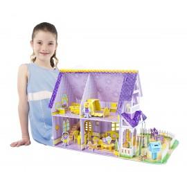 """""""Пазл""""3D Пурпурный домик для куклы Melissa and Doug (США) 9461"""