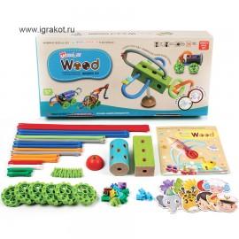 Гибкий конструктор Waveplay (Корея) 20С wood