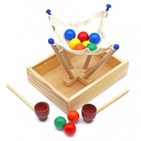 "Игра на координацию и моторику ""шарики"""
