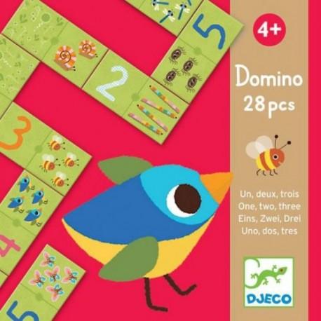 Домино «Раз, два, три» Djeco (Франция) 08168