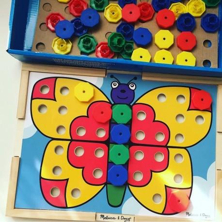 """Мозаика """"Подбери правильный цвет"""", Melissa and Doug"""