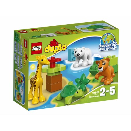 Конструктор Вокруг света: малыши LEGO Duplo 10801