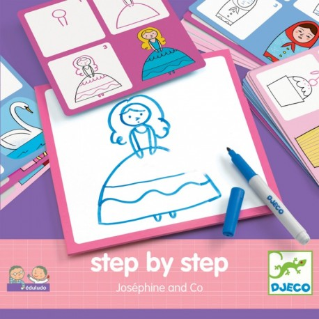 Набор для рисования Жозефина и Ко, Djeco (Франция)