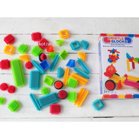 "Игольчатый конструктор ""Bristlle Blocks"", Battat (Канада) 56 дет. в коробке"