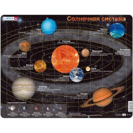 """Пазл """"Солнечная система"""" Larsen (Норвегия)"""