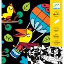 Бархатные раскраски Djeco (Франция) 09621