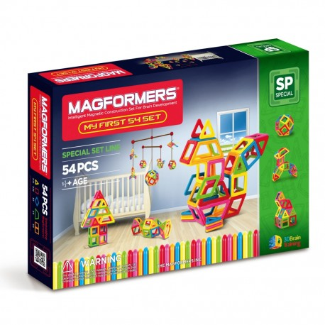 "MAGFORMERS ""My First Magformers"" 54 детали"