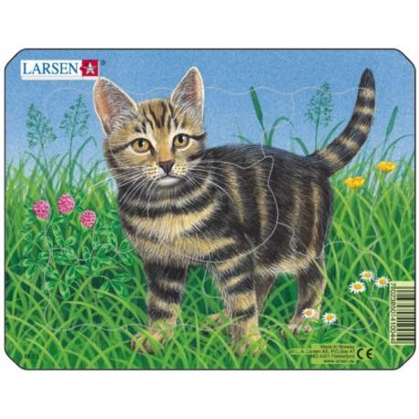 Пазл  котенок mini Larsen (Норвегия)