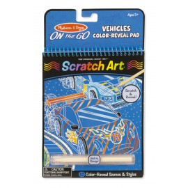 "Scratch Art «Транспорт"" Melissa and Doug (США)"