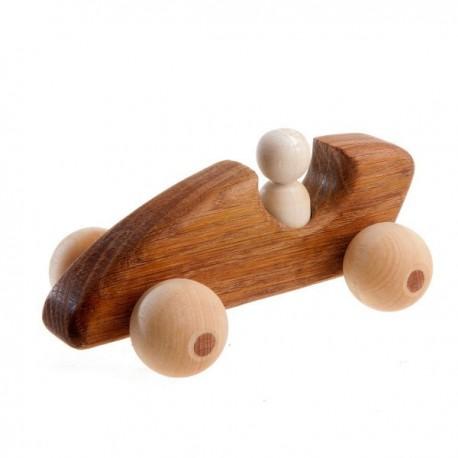 Деревянная машинка Спорткар Формула-1 Леснушки (Россия)