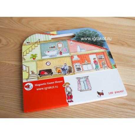 Магнитная игра Дом, Egmont Toys (Бельгия)