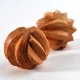 Тактильные можжевеловые шарики рифленые, Леснушки (Россия)