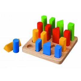 Геометрический сортер Plan Toys (Тайланд) 5125