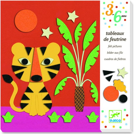 Набор для творчества Коллаж Природа Djeco (Франция)