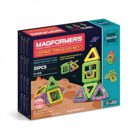 MAGFORMERS Space Traveler set (35 деталей)