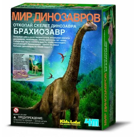 Раскопки. Скелет Брахиозавра, 4M