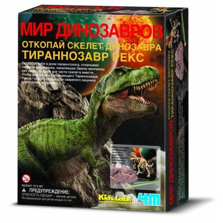 Раскопки, Скелет Тираннозавра 4M