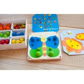 Творческая мозаика Plan toys