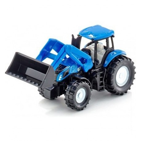 Трактор New Holland, синий, Siku (Германия)