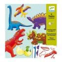 Двигающиеся фигуры Динозавры, Djeco (Франция) 09680