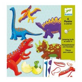 Двигающиеся фигуры Динозавры, Djeco (Франция)