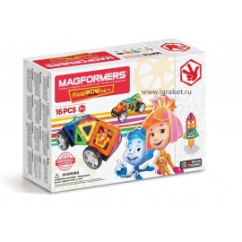 Magformers Fixie Wow Set (фикси вав сет)