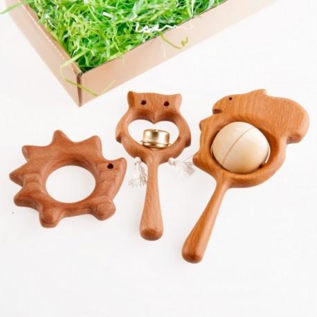 Подарочный набор Лесные друзья Леснушки (Россия)