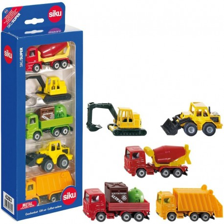 Набор Машины (5 машин), Siku 6283
