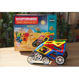 Магнитный конструктор Magformers Desert Adventure