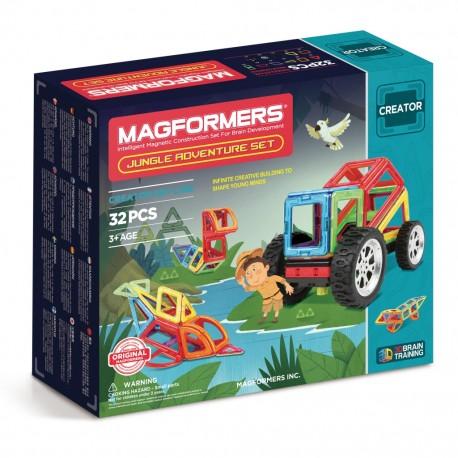 Магнитный конструктор MAGFORMERS Adventure Jungle set