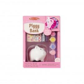 Творчество набор разукрась копилку-свинку Melissa Doug (США)