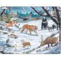 Животные Сибири и Дальнего Востока Пазл Larsen (Норвегия) FH34