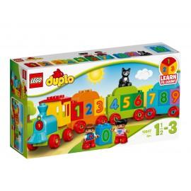 Lego Duplo (Лего Дупло) Поезд считай и играй 10847
