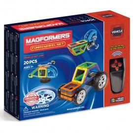 Магнитный конструктор MAGFORMERS Funny Wheel Set 20