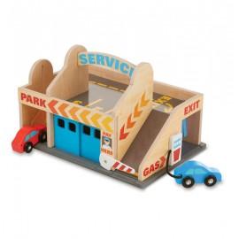Игровой набор Автостоянка (гараж и мойка) Melissa&Doug (США) 9271