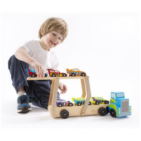 Классические игрушки погрузчик Melissa doug (США) 2759