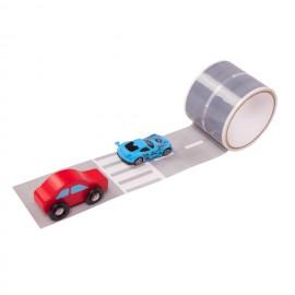 Игровой скотч дорога с дорожной разметкой Умная дорога (Россия)