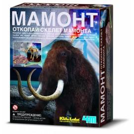 Раскопки Скелет Мамонт 4M