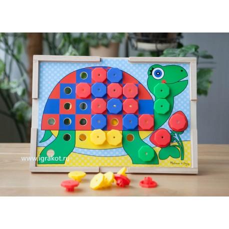 """Мозаика """"Подбери правильный цвет"""", Melissa and Doug 4313"""