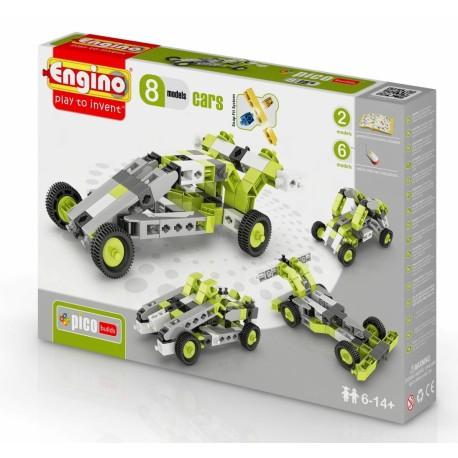 Конструктор ENGINO (Кипр) INVENTOR Автомобили - 8 моделей