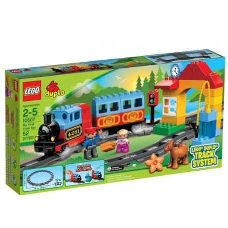 Конструктор LEGO Duplo Мой первый поезд 10507