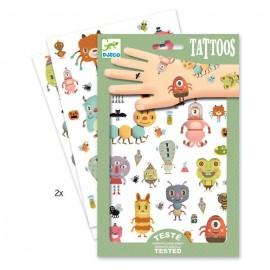 Татуировки Монстры Djeco (Франция) 09581