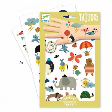 Татуировки Забавные мелочи Djeco (Франция) 09579