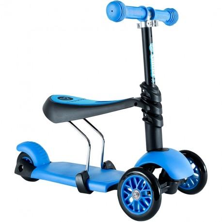 Самокат Yvolution Glider 3 в 1, синий