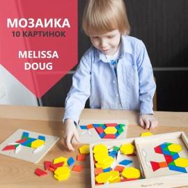 """Деревянная мозаика """"Геометрические фигуры"""", Melissa and Doug (США) 29"""