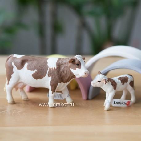 Симментальская корова Schleich (Германия) 13801
