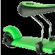 Самокат Yvolution Glider 3 в 1, зеленый