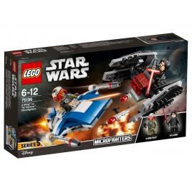 LEGO Star Wars Истребитель типа A против бесшумного истребителя СИД