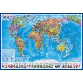 Карта Мира Политическая 1:28  GLOBEN