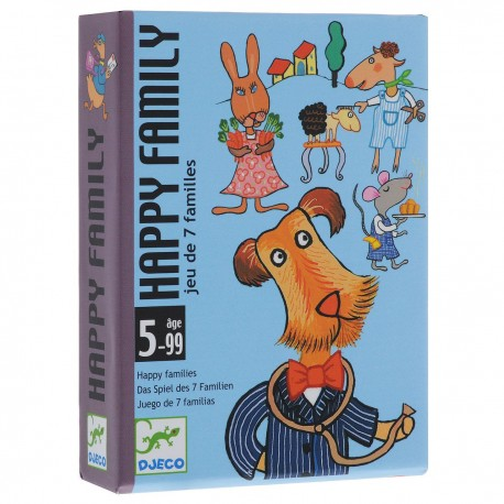 Карточная игра счастливая семейка Djeco (05115)